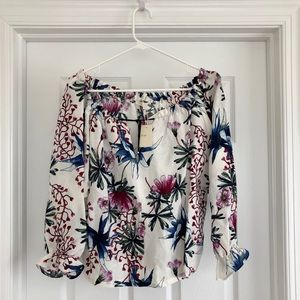 Maje Never Been Worn Silky Printed Top Size 2